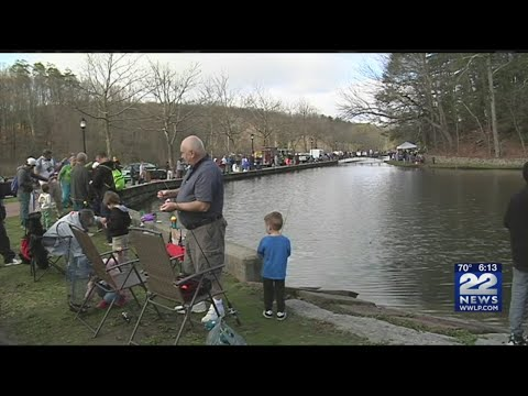 55th Annual Youth Fishing Derby Held At Forest Park