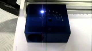 Нанесение шкалы лазером на анодированном алюминии(Вы можете видеть процесс нанесения шкалы на деталь с покрытием методом лазерной маркировки. Изображение..., 2014-04-02T08:28:15.000Z)