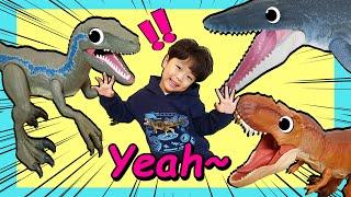 노래를 부르면 공룡이 엄청 커져요! 지환이와 노래 부르고 신비한 공룡도 만나요
