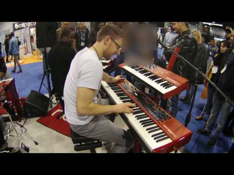 NAMM 2017 Matt Cossey Performance at Nord
