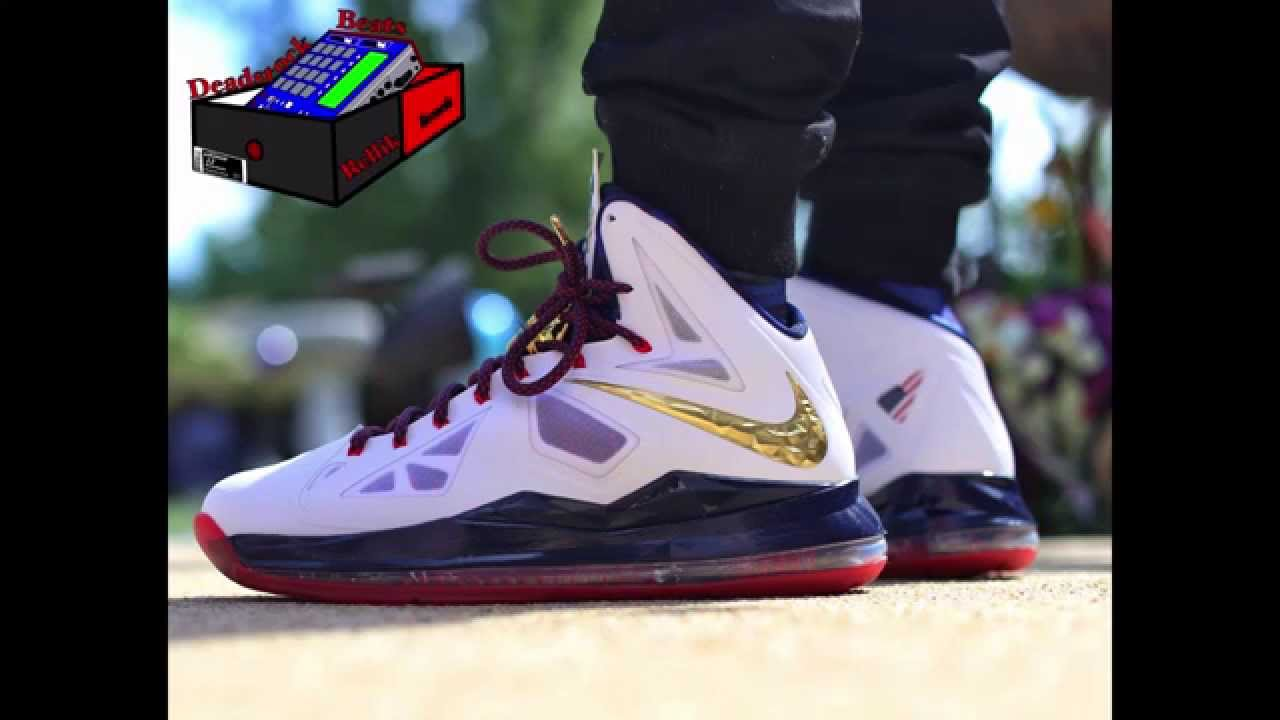detailed pictures 89055 53675 Nike LeBron 11 Gold Medalist