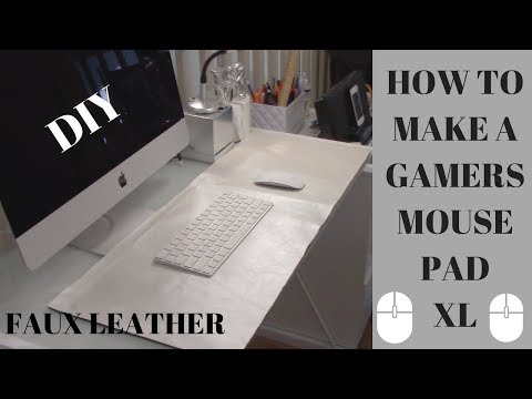 HOW TO MAKE A GAMERS MOUSE PAD || DIY 🤩🤑😅