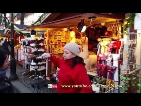 Julemarkeder in - Oslo, Norway (4K Ultra HD)