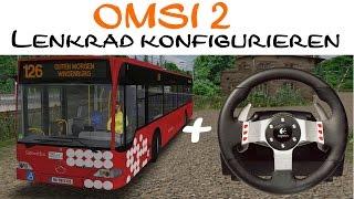 OMSI 2 Tutorial | Lenkrad (G27) in OMSI 2 konfigurieren
