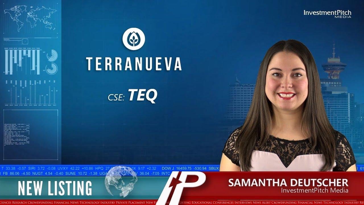 CSE New Listing - Terranueva Corporation Commences Trading