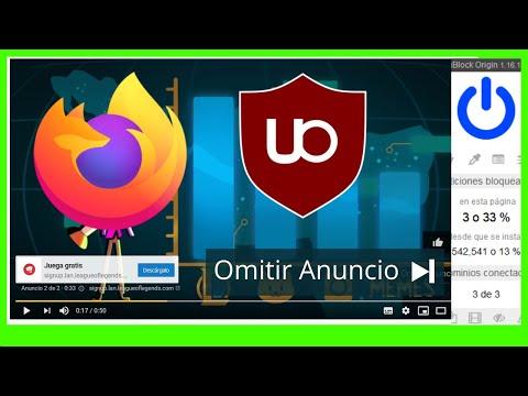 Como quitar anuncios de Youtube en Firefox 2021
