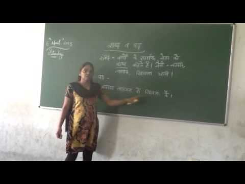 Class X Hindi Grammar Travel Video