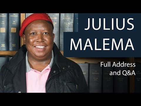 Julius Malema | Full Address and Q&A | Oxford Union