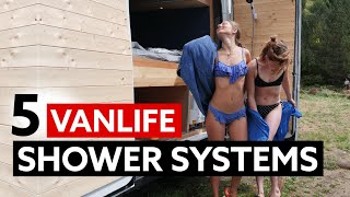5 GREAT VANLIFE SHOWER SYSTEMS 🚿🚐