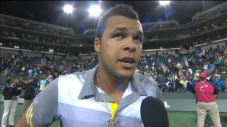 Tsonga Starts Indian Wells Campaign With Blake Win