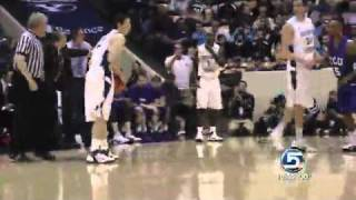 Jimmer Fredette has Wicked Range of 3's (Or as several said 4 point land!)