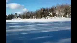The Sounds of Frozen Lake