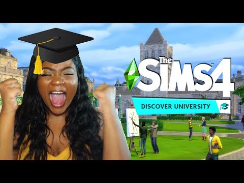 SIMS 4 DISCOVER UNIVERSITY TRAILER (REACTION) omg! |