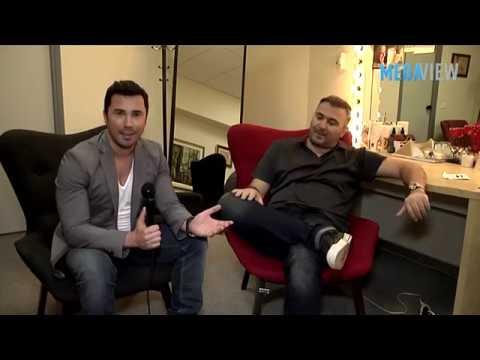 Antonis Remos interview with George Satsidis @ Mega View On Mega Cosmos