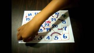 วันที่ เกมบันไดงูปฏิทิน 日付_カレンダーすごろく Can-Do: สามารถพูดว...