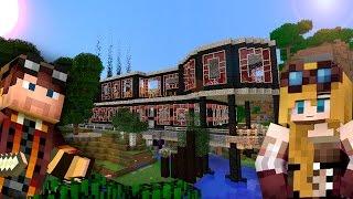 Наш красивый дом на сборке Пионеры - Обзор - Скачать карту - Майнкрафт 1.5.2