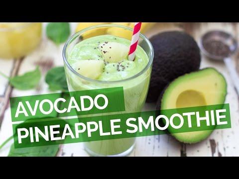 avocado-pineapple-smoothie-recipe