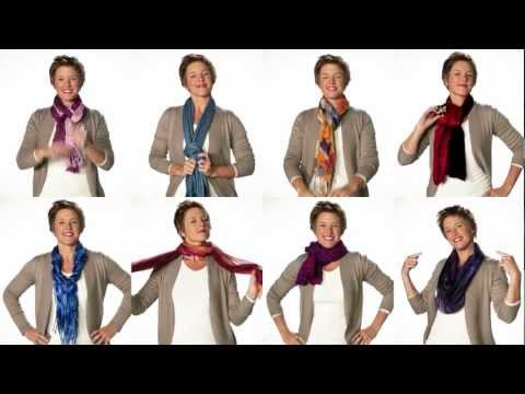 New Ways to Tie a Scarf - Coldwater Creek