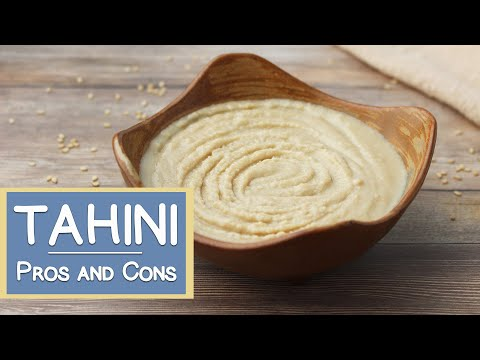 Tahini, Source Of Calcium? Important Info If You Use It Regularly