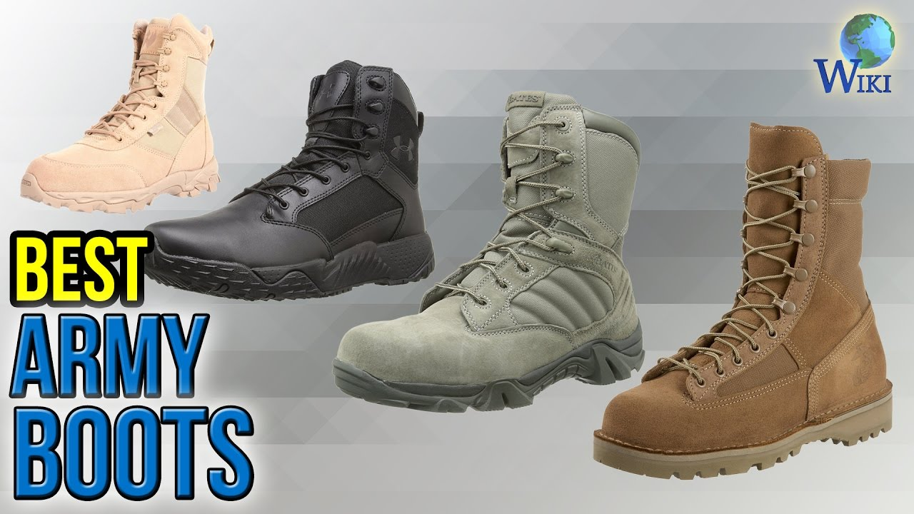 10 Best Army Boots 2017 - YouTube