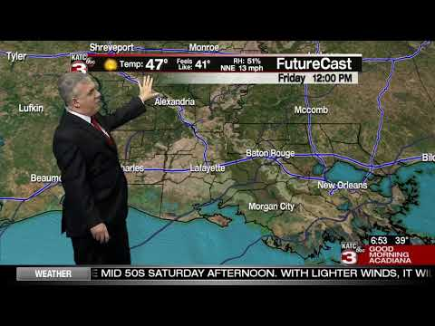 Dave's Friday WeatherCast 2/21/2020