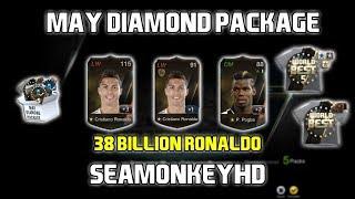 WOW! 38 BILLION RONALDO WORLD BEST +3 | MAY DIAMOND PACKAGE | FIFA ONLINE 3 강화성공! เปิดแพค!