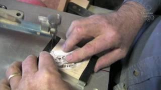 Maine Scroll Saw Artist Making Hand Cut Wooden Ornaments