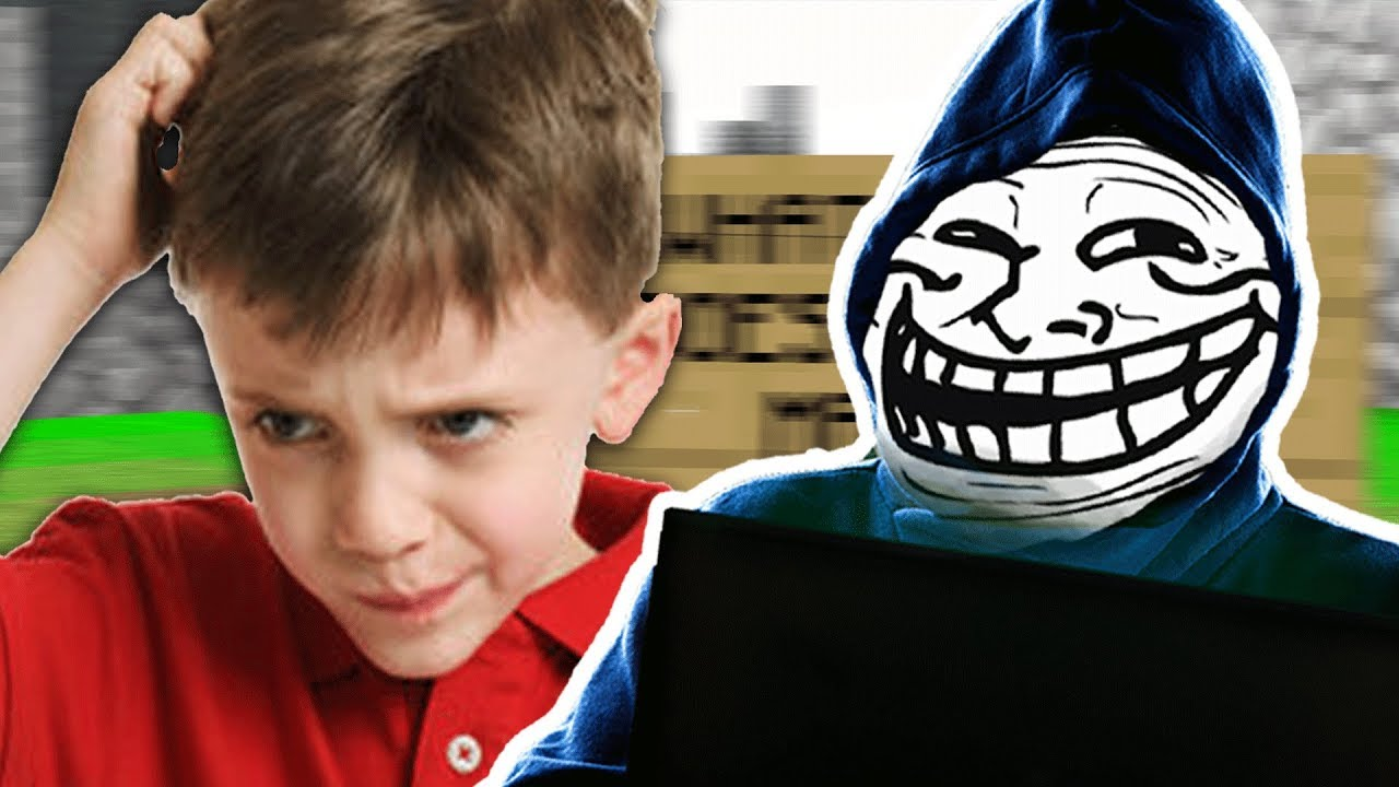 I FOUND AND TROLLED THE NICEST KID ON BEDWARS! (Trolling In Minecraft)