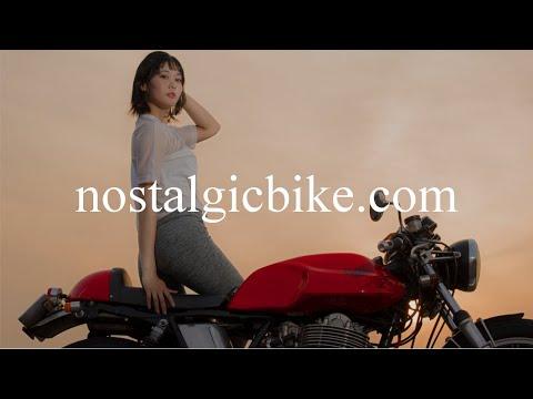 【Full version】Beautiful Cafe Racer Girl / カフェ・カスタムSR500に乗る女性モデル・ドキュメンタリー