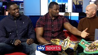Dillian Whyte names the THREE fighters on his 'hit list' 👊 | With Richard Riakporhe | Toe 2 Toe