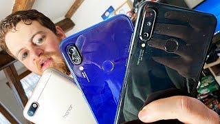 TOTO sú Najpredávanejšie Smartphony do 300€