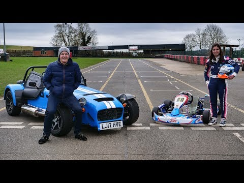Caterham 620S Vs Go-Kart [feat. Jamie Chadwick]