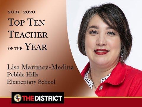 Mrs. Lisa Medina Pebble Hills Elementary School