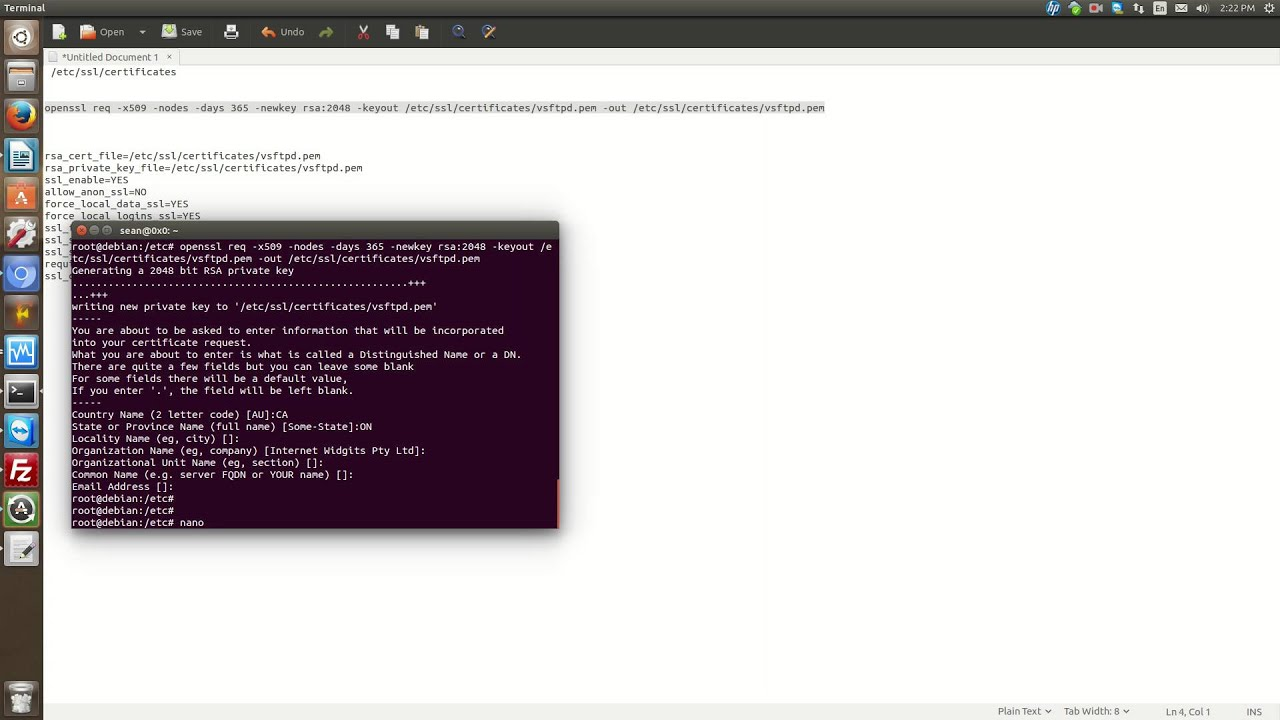 Configuring ftps with vsftpd youtube configuring ftps with vsftpd xflitez Image collections