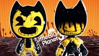 Ultimate Bendy And The Ink Machine Kit Giveaway - LittleBigPlanet 3 PS4 Gameplay