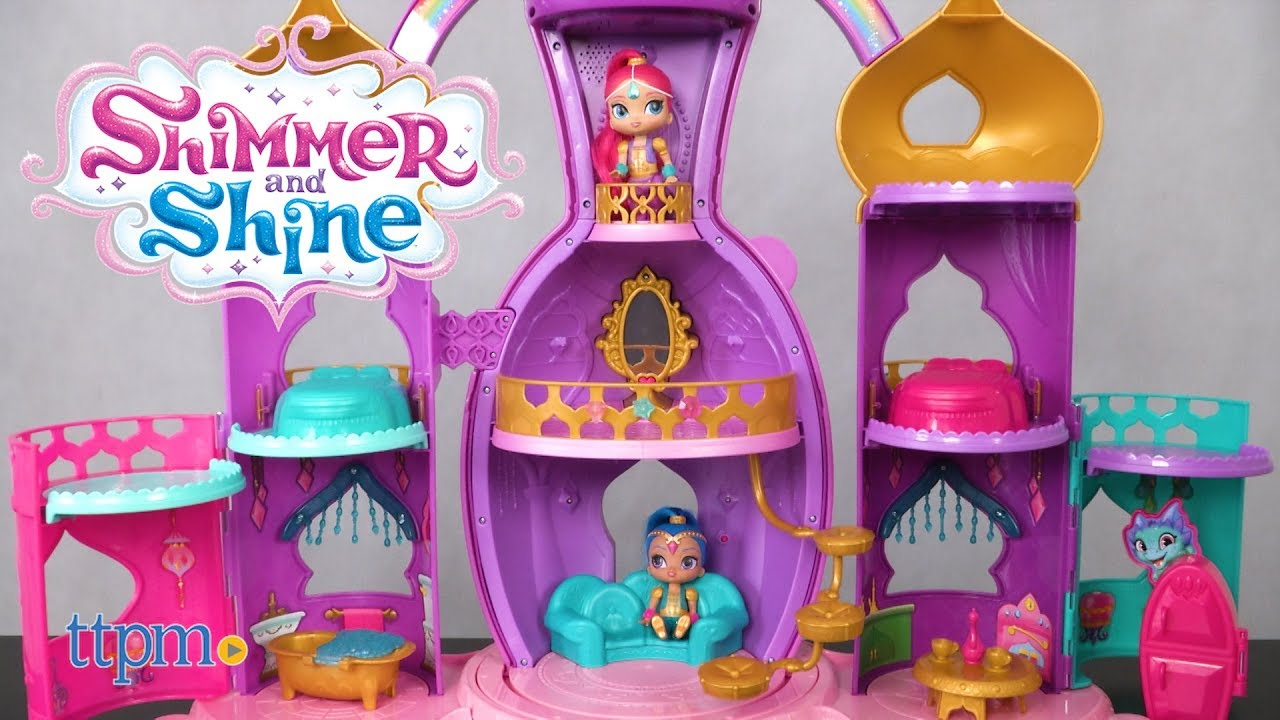 Shimmer And Shine Magical Light Up Genie Palace From