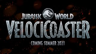 Jurassic World VelociCoaster, Coming Summer 2021 to Universal Orlando Resort