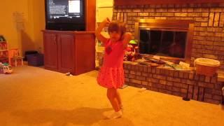 """Amalia Dancing - Faith Hill """"This Kiss"""""""
