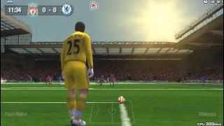 FIFA 10 PSP gameplay