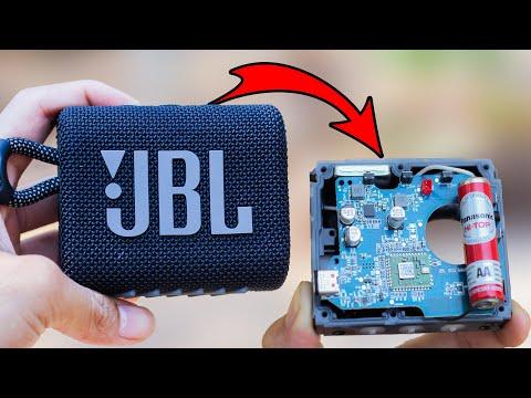 Sự thật bên trong loa thương hiệu Mỹ   JBL GO3