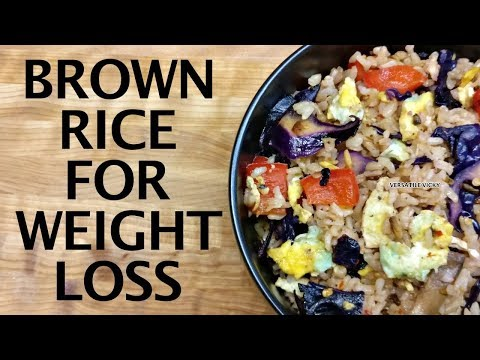 brown-rice-recipe-for-weight-loss-|-healthy-brown-rice-recipes-indian