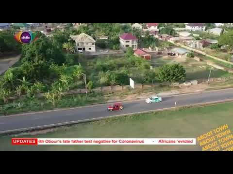 Beauty of Accra from top view(DRONE WORK)