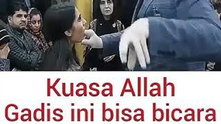 KUASA ALLAH... Gadis bisu ini bisa berbicara setelah kepalanya dipukul dan dibacakan Al-Qur'an