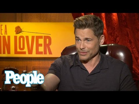 Rob Lowe On Why He Doesn't Role Play With Wife, Talks 'Yoda Of The Gigolos' | People NOW | People