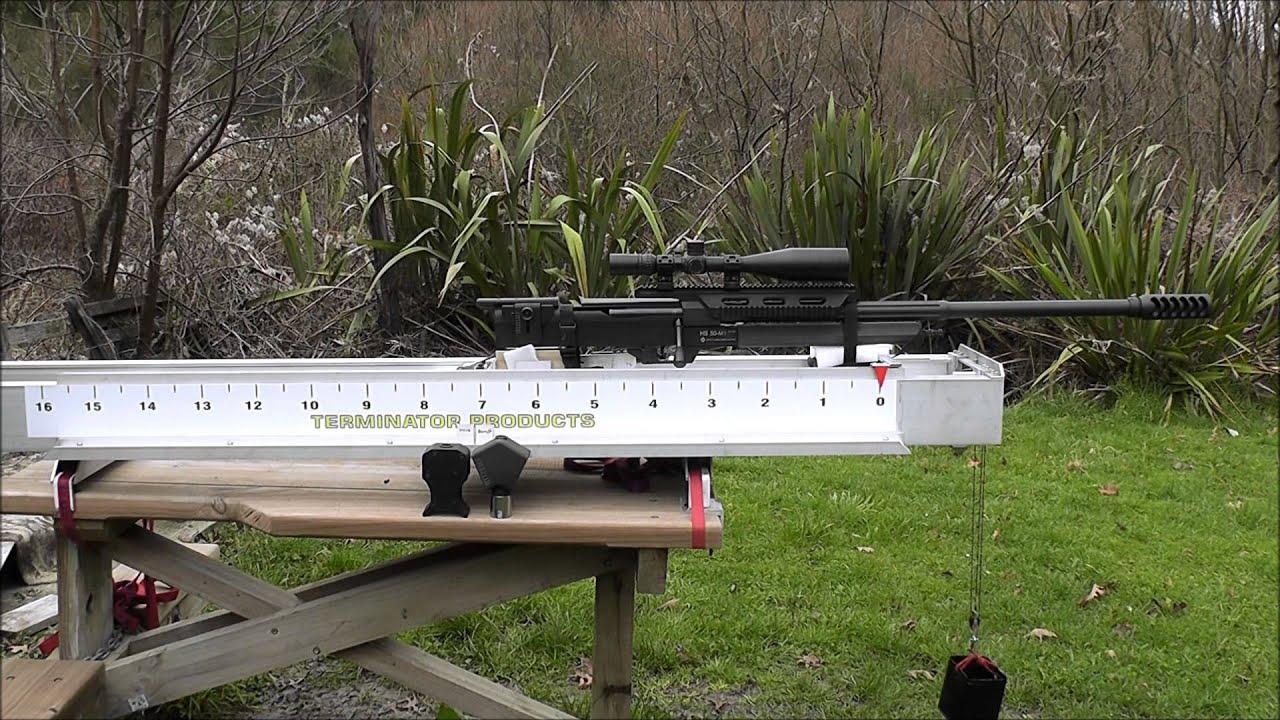 T6 Terminator Muzzle Brake compared to the Steyr & Barrett 50 BMG brakes
