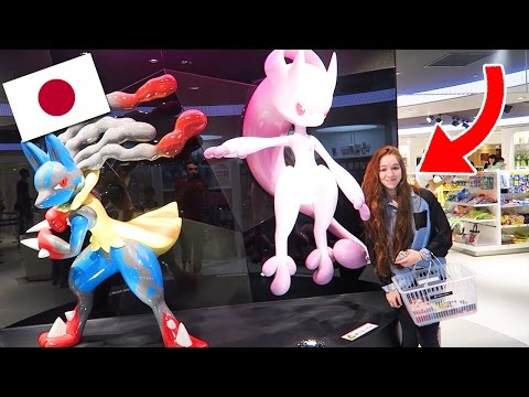 VISITE DU PLUS GRAND POKEMON CENTER DU MONDE !! - Vlog au Japon