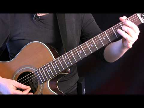 "Learn ""The Butterfly"" on Guitar. Celtic tune in DADGAD tuning, 9/8 time. FREE TAB!!"