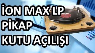 iON MAX LP Pikap Nasl Çalr Kutu Açl