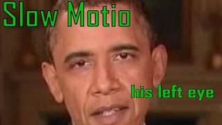 (2.H.H) Barack Hussein Obama AMAZING shape shifting IRIS