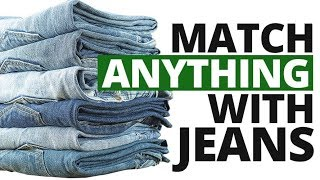 How To Match Jeans With ANYTHING | 3 Tips To Pair Denim With Everything
